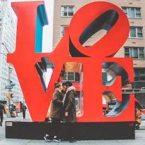 Statue LOVE sur la 6ème avenue